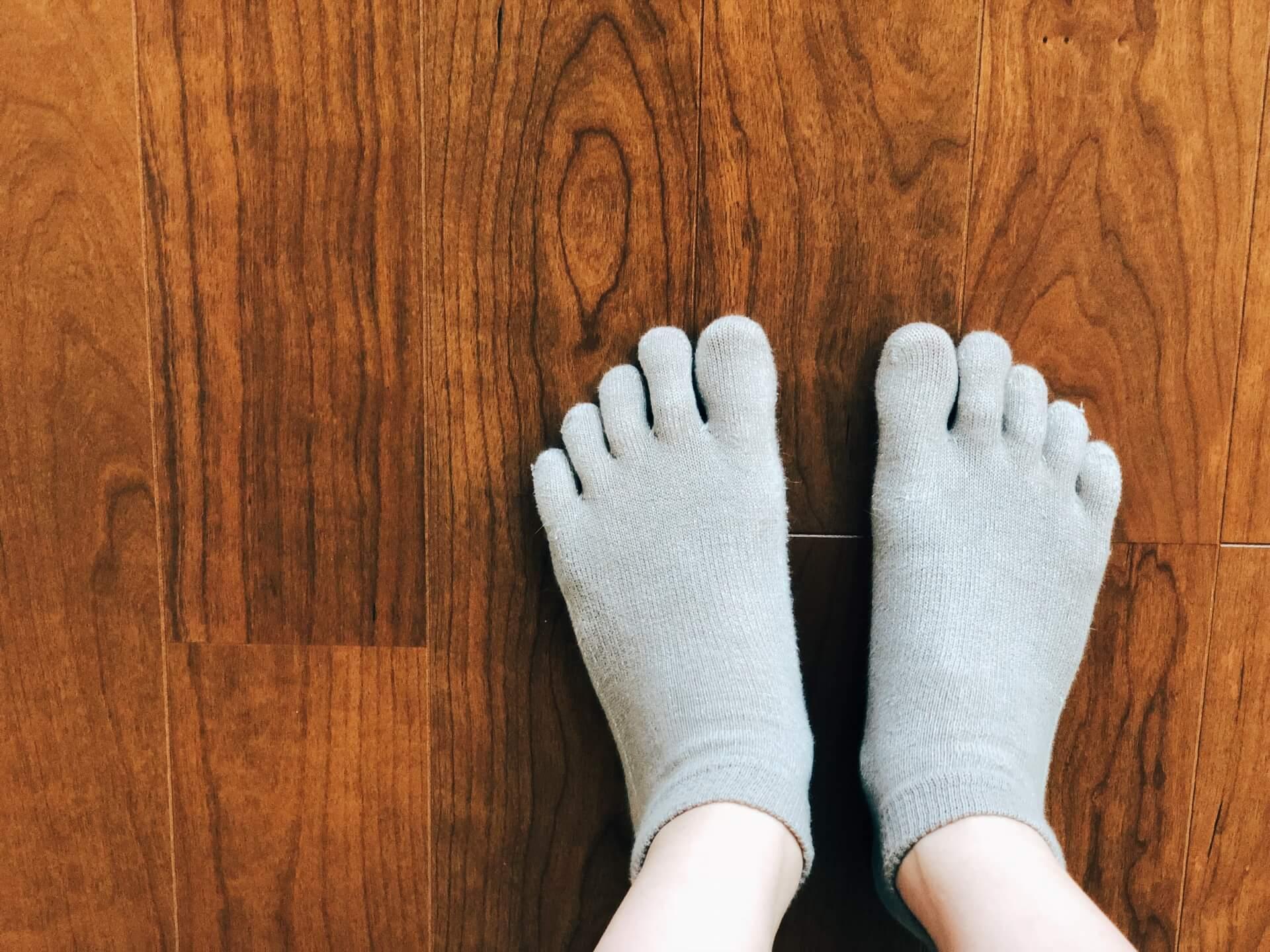 汗かきの靴下