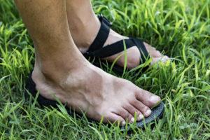 汗かきの足