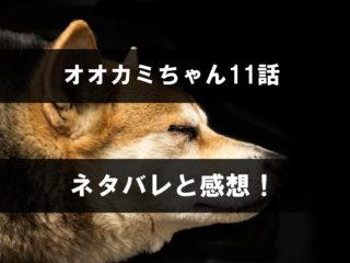 オオカミちゃん,11話,ネタバレ,感想,オオカミちゃんには騙されない