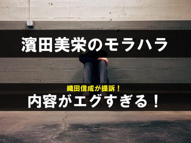 濱田美栄のモラハラの内容